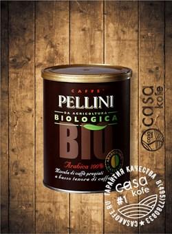 кофе Pellini BIO (Пеллини БИО) молотый 250гр