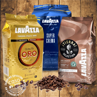 кофе Lavazza в зернах