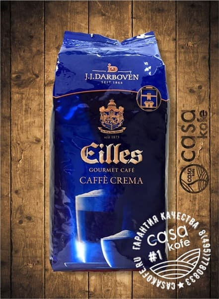 кофе Eilles Caffe Crema (Эйлис Кафе Крема) в зернах 1кг