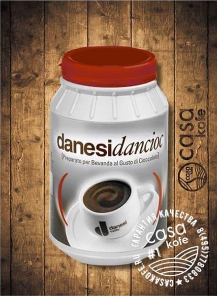 горячий шоколад Danesi Dancioc банка 1кг