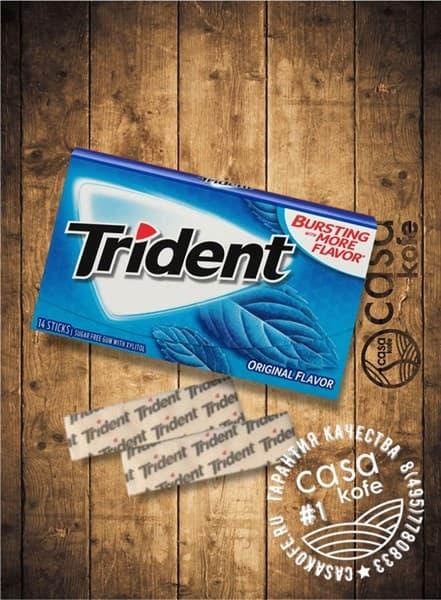 Жвачка Trident Original (Тридент Ориджинал) 14стиков