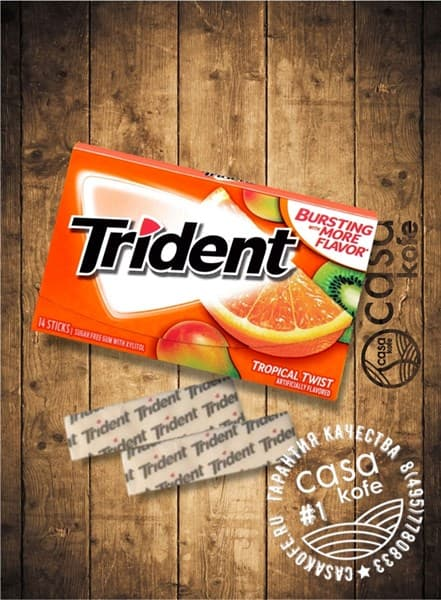 Trident Tropical Twist (Тридент Тропик) 14стиков