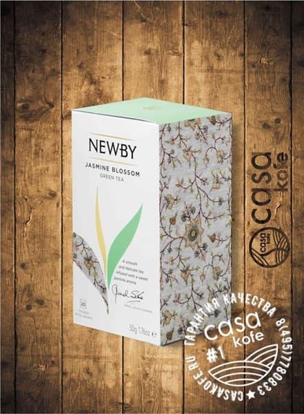 чай NEWBY Jasmine Blossom (Цветок Жасмина) зеленый