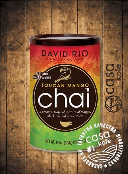 Пряный чай Toucan Mango Chai (Тукан Манго Чай) David Rio 398гр, США