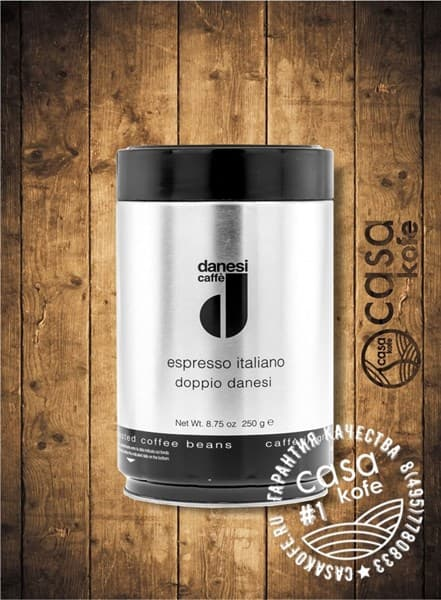 Danesi Doppio (Данези Доппио) кофе в зернах 250гр