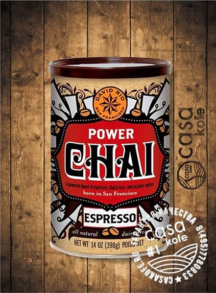 чай-латте Power Chai Espresso DAVID RIO 398гр, США