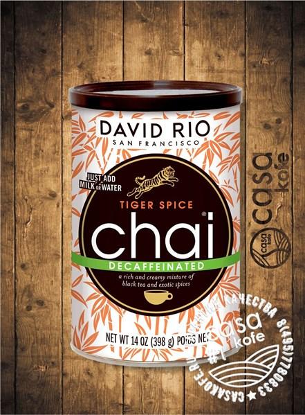 чай Tiger Spice Decaf Chai DAVID RIO 398гр