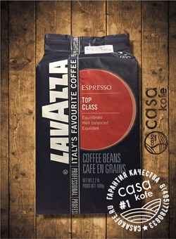 кофе Lavazza Top Class (Лавацца Топ Класс) в зернах 1кг