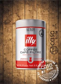 кофе ILLY Filter (ИЛЛИ Фильтр) молотый 250гр