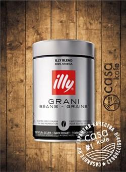 кофе ILLY Espresso dark (ИЛЛИ Эспрессо темной обжарки) в зернах 250