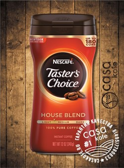 кофе Tasters Choice House Blend (Тестер Чойс Хаус Бленд) 340гр