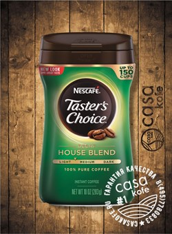 кофе Tasters Choice Decaf (Тестер Чойс Декаф) 283гр