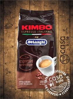кофе KIMBO Espresso Prestige (Кимбо Эспрессо Престиж) в зернах 1кг