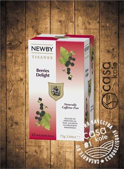чай Newby Ягодное Наслаждение 25 пакетиков фруктовый 75гр