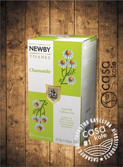 чай Newby Цветы Ромашки 25 пакетиков травяной 38гр