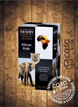 чай Newby Африканская Гордость 25 пакетиков черный 50гр