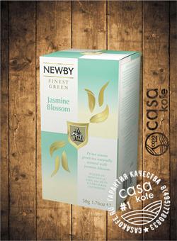 чай Newby Цветок Жасмина 25 пакетиков зеленый 50гр