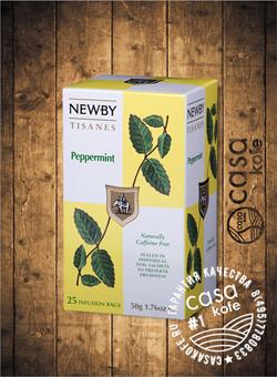 чай Newby Мята Перечная 25 пакетиков травяной 50гр