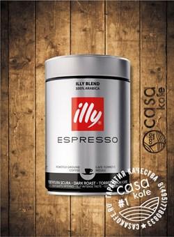 кофе ILLY Espresso (ИЛЛИ) темной обжарки молотый 250гр