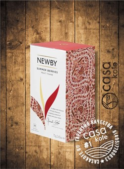 NEWBY Berries Delight (Ягодное Наслаждение) чай фруктовый