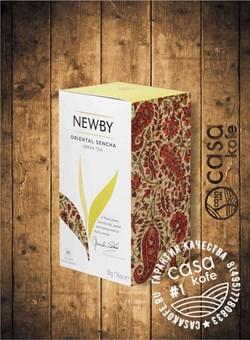 чай NEWBY Oriental Sencha (Восточная Сенча) 25 пакетиков зеленый