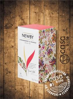 чай NEWBY Strawberry Mango (Клубника Манго) 25 пакетиков черный