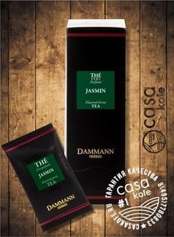 чай Dammann Jasmin (Жасмин) 24 пакетика зеленый