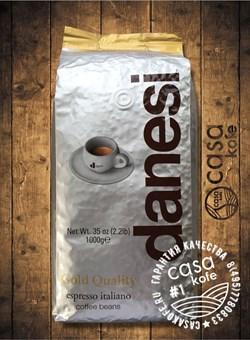 кофе Danesi Gold (Данези Голд) в зернах 1кг