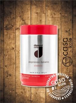 кофе Danesi Classic (Данези Классик) в зернах 250гр