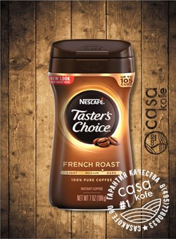 Tasters Choice French Roast 198гр