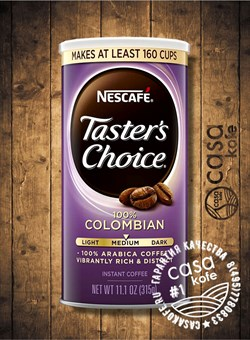 Tasters Choice Colombian 315гр США