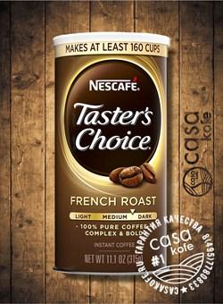 Tasters Choice French Roast (Тестер Чойс Френч Роаст) 315гр США